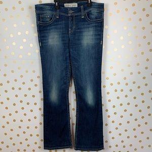 Buckle BKE Dakota Embroidered Bootcut Jeans